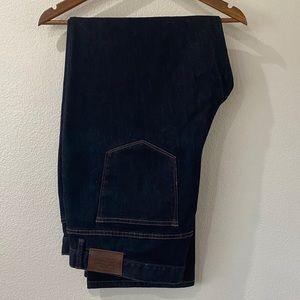 RALPH LAUREN 20W Dark Wash Classic Straight Jeans